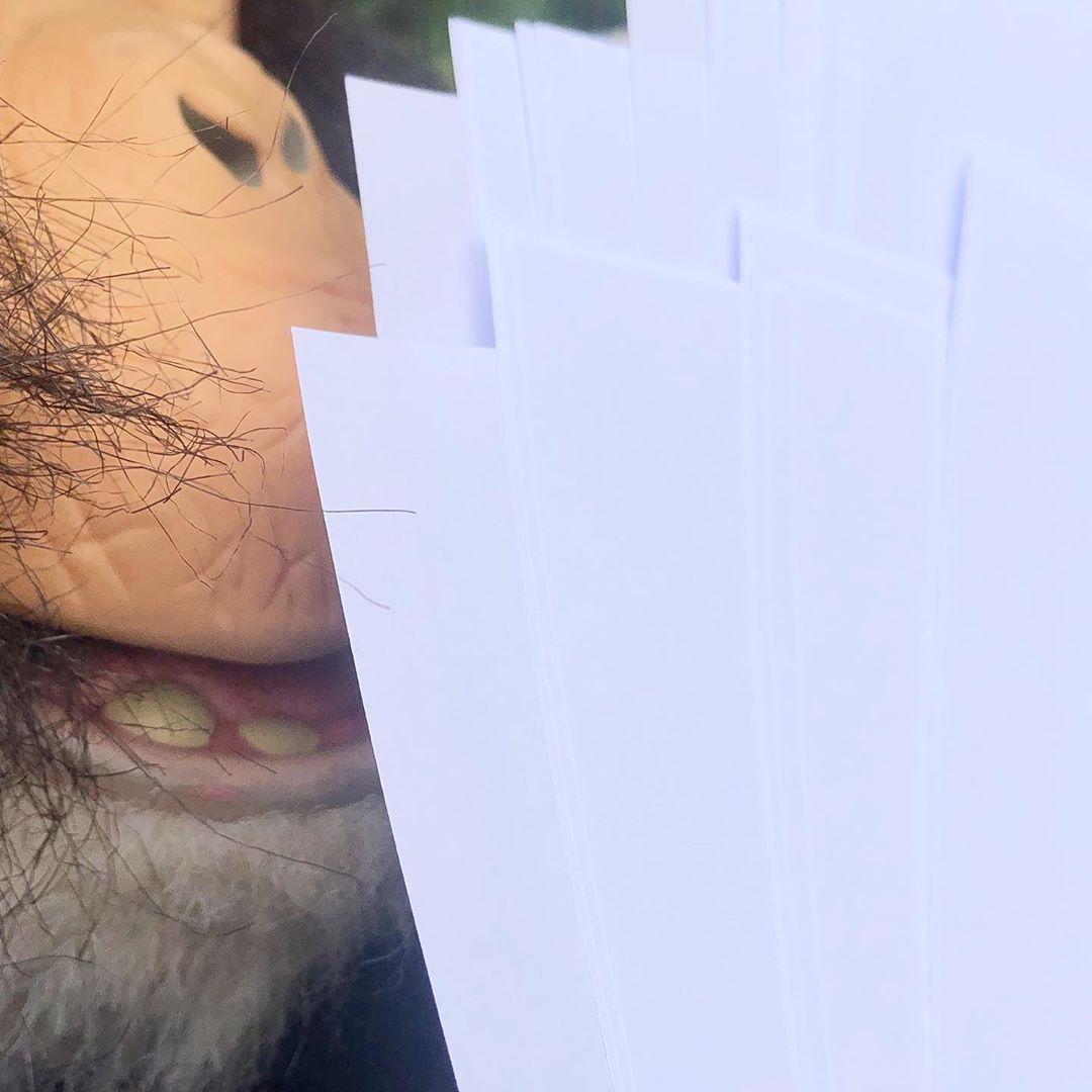 *It smells SO good*  #paper #hahamonkey