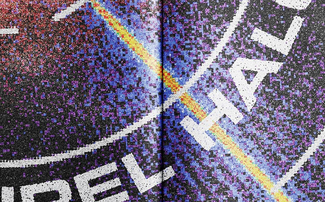 crunchwrap supreme ::: superzoom of a poster for a nike x boiler room party / excerpt spread from my unpublished monograph