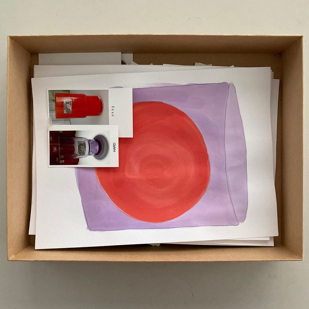 Archive box, Isla vases @nouvelglass