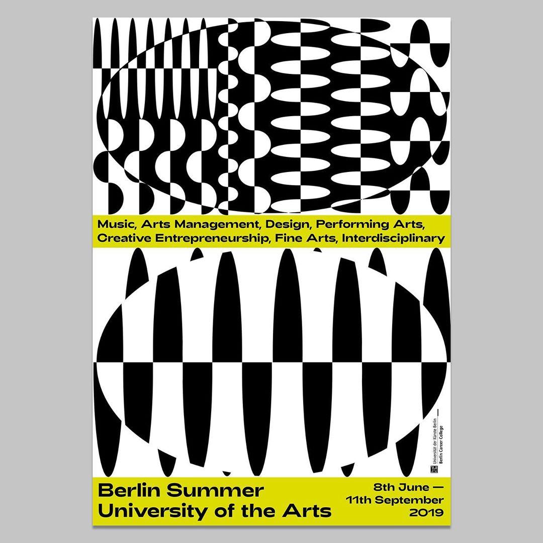 Berlin Summer University Poster @klassehickmann