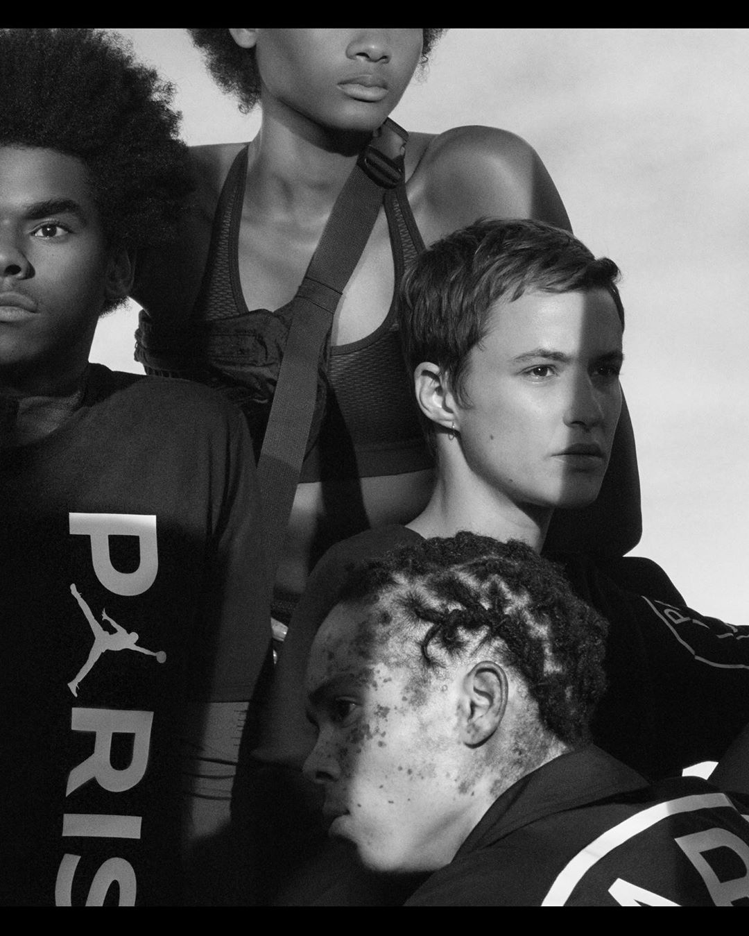 Nike -PSG x Jordan w/ @charlesnegre @rubio.julie @nikefootball #2018