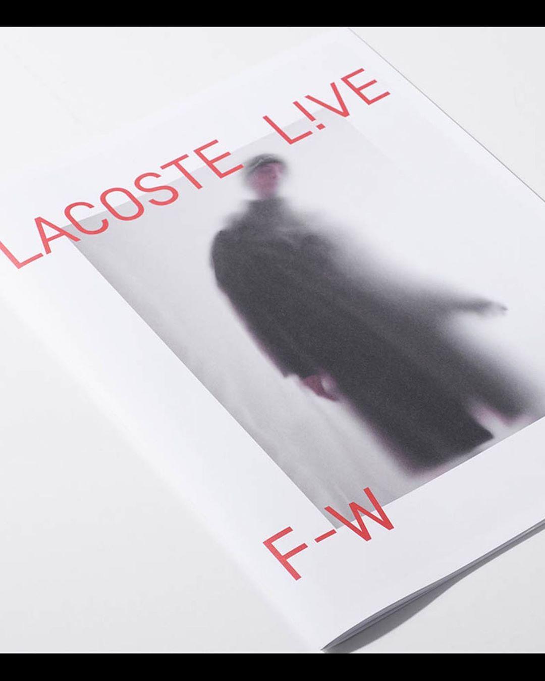 Lacoste Live FW18 w/ @jonas_lindstroem @lacoste #2018