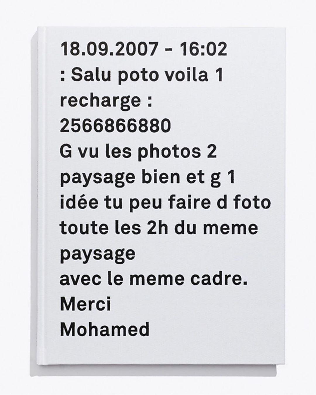 Temps Mort by Mohamed Bourouissa w/ @mohamedbourouissa @etudesbooks @kamelmennour #2014