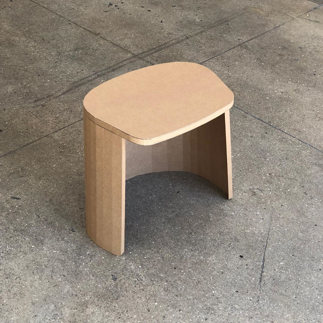 Day 5/5, stool mockup.
